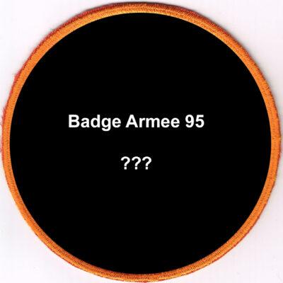 Badges Armee 95 Auswahl-Position nicht aufgelisteter Badges
