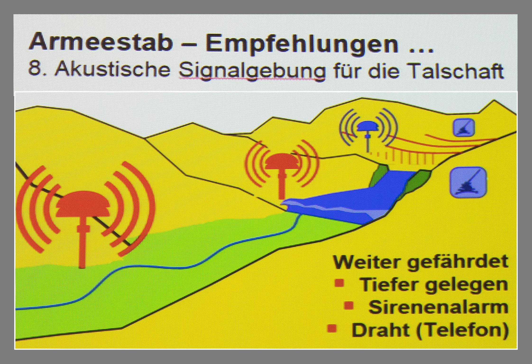 VSAM Vortrag Schutz der Schweizer Stauseen gegen Fliegerangriffe
